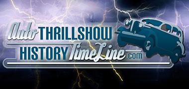 Auto Thrillshow History Timeline banner