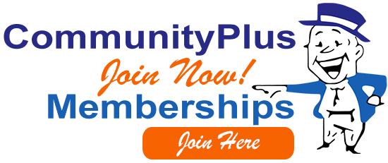 Join Now Membership CommunityPlus color AD banner