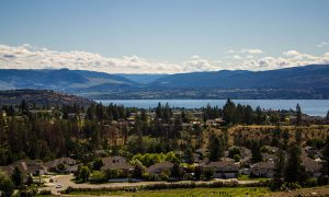 Gellatly road area view-from West Kelowna Welcome Highway Sign