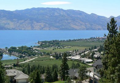 Mount Boucherie-landscape view, West Kelowna.