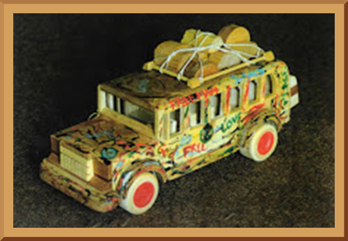 Wooden Party Bus